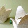 Орігамі свічник