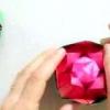 Орігамі троянда своїми руками