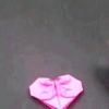 Орігамі сердечко закладка