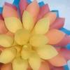 Зробити об'ємний квітка з паперу своїми руками