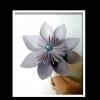 Схема орігамі з паперу квітку своїми руками