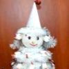 Сніговик з цукерок