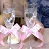 Весільні келихи своїми руками фото майстер клас