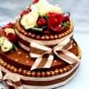 Торт своїми руками з цукерок
