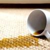 Видалення плями від кави з ламінованої двері