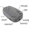 Установка дати і часу на 808 car keys micro-camera