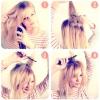 Висока зачіска на довге і середні волосся своїми руками - фото інструкція